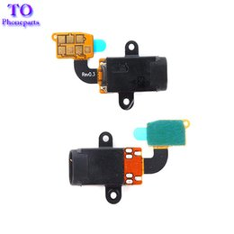 Wholesale New Headphone Cable - New Headphone Earphone Audio Jack Flex Cable Repair For Samsung Galaxy S5 i9600 G900F Free Shipping