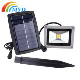 Wholesale Energy Saving Flood Light - 45 LEDs Solar Flood Light Street Floodlights 6V 3W Solar Panel Outdoor Energy Saving Lighting