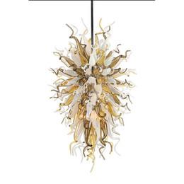 Longree Personnalisé Coloré Verre Soufflé Longue Chaîne Décorative LED Chihuly Lustre antique Indien Suspension Lampe En Verre ? partir de fabricateur