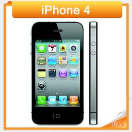 Разблокирована Apple Iphone 4 сотовый телефон 3,5