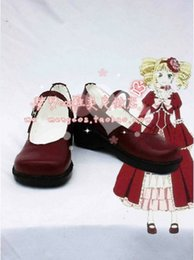 Wholesale Elizabeth Cosplay - Wholesale-New Arrival Black Butler Elizabeth Cosplay Shoes