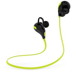 Гарнитуры qy7 онлайн-Qy7 беспроводной стерео V4.1 Bluetooth спорт / бег наушники тренажерный зал / упражнения мини Легкие наушники гарнитура для смартфона мобильный телефон 300 шт.