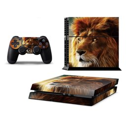 Wholesale Game Controller Car - animal car style playstation 4 console sticker 2 Wireless Remote Controller Skins +1Set Game Console Skin Waterproof Controller Skin for PS4