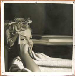 Wholesale Christmas Oil Pictures - Free Shipping Marilyn Monroe, Modern Art Home Decorative Pictures for Christmas Decorations H-0006
