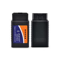 Wholesale Diagnostic Car Pc - V2.1 ELM327 Bluetooth OBD2 OBDII Auto Car Diagnostic Scanner Tool Car Code Reader Works on Android Torque PC DHL Free