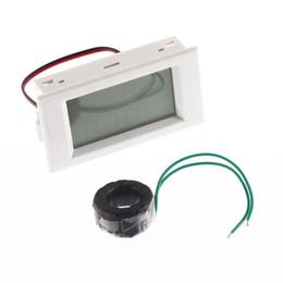 All'ingrosso-LCD Blu Retroilluminazione Volt Amp doppio display Meter AC100-300V / 50A 2in1 Voltmetro Amperometro + Corrente Più recente supplier voltmeter dual da voltmetro doppio fornitori
