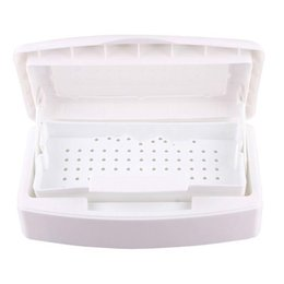 Wholesale Tools Sterilizer Box - Wholesale-Pro Sterilizer Tray Box Sterilizing Clean Nail Art Salon Tool [26972|01|01]407