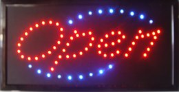 Wholesale Neon Open Sign Wholesale - Ultra Bright LED Neon Light Animated led OPEN signs neon led open signs open led indoor led open