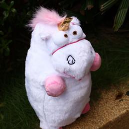 Wholesale Despicable Unicorn Pillow Plush - 1pcs 40cm 15.7inch Despicable Me 2016 Despicable Me Fluffy Unicorn Plush Pillow Toy Doll cute Fluffy figure gift retail P020