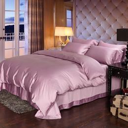 Wholesale Cartoon Taro - Luxury 100% Egyptian cotton bedding sets bed sheets taro purple queen duvet cover king size quilt doona bedsheet bedspread linen spread