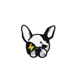 27555f6896650 10PCS Bulldoggen bestickt Patches für Kinder Kleidung Eisen auf Transfer  Applique Patch für Taschen Jeans DIY Nähen auf Stickerei Aufkleber günstig  ...