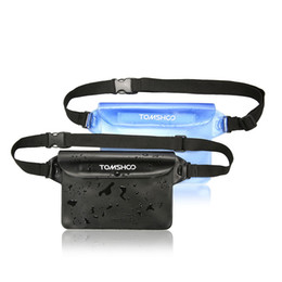 Wholesale Dry Bags For Kayaking - TOMSHOO 2 Pack Outdoor Sports Waterproof Pouch Dry Bag Case Waist Fanny Pack for Beach Kayaking Fishing Boating Swimming