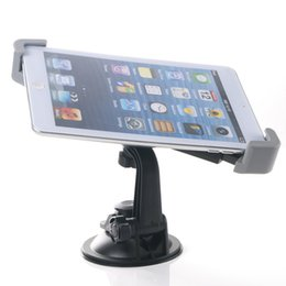 Wholesale Tablet Gps Ipad - 2016 360 Degree Rotating Car Windshield Dashboard Mount Holder For iPad 3 4 Air Samsung Galaxy Tab 2 3 4 Tablet PC GPS 7 to 10 inch