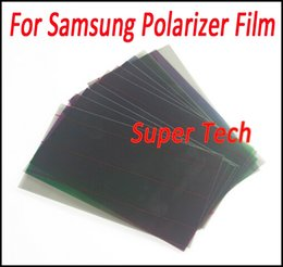 Wholesale S3 Screens - LCD Polarizer Film Polarization for Galaxy S3 S4 S5 S6 A5 Note5 Note4 Note3 LCD Screen Filter Polaroid Polarized Light Film sheet