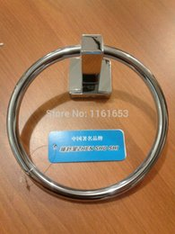 Wholesale Copper Bathroom Accessories Sets - 2014 Copper Sale Real Accessories for Bathroom Metais Para Banheiro Set All Copper, Stainless Steel Towel Ring Bath Hanging
