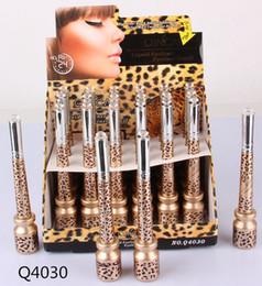 Penne conchiglie online-Matita per penna Eyeliner Liquid Leopard Shell di 2 stili 2 in 1 Fast Dry Definite Waterproof Amazing DHL free