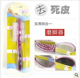 Wholesale Daily Necessity Products - Wholesale-wholesale- Four in one foot control feet brush home bathroom cleaning products yiwu baihuo daily necessities
