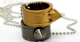 cuchillos plegables borde dentado Rebajas 2 piezas de oro o collar de plata antiguo Juego de herramientas de defensa para los dedos Anillo de acero inoxidable de defensa personal Anillo de defensa
