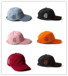 Wholesale Cotton Logo Hats - Cheap Hot Savage Box Logo Dad Hat Kanye West Martin Show Hat drake ovo Embroidered Baseball Cap Curved Bill Love & Basketball bone swag