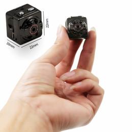 Wholesale Home Digital Video Recorder - FulL HD 1080P Sport Spy Mini Camera SQ8 Mini DV Voice Video Recorder Infrared Night Vision 720P Digital Small Cam Hidden Camcorder 40pc lot