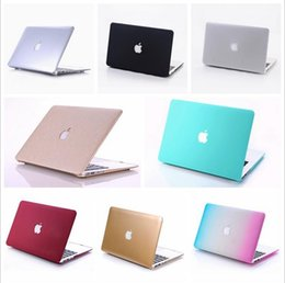 Wholesale Macbook Pro Top Case - Wholesale Top quality hard frosted plastic protective case shell for Macbook Air Pro 11.6 13.3 15.4 inch