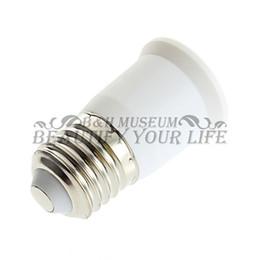 Wholesale T5 Bulb Converter - E27 To E27 Light Bulb Lamp Holder Socket Adapter Converter hot selling