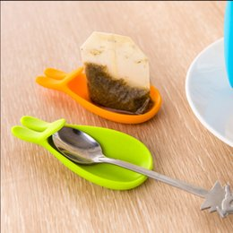 Wholesale Wholesale Candy Cups - New Arrival Cute Rabbit Shape Silicone Tea Bag Holder Cup Mug Candy Colors