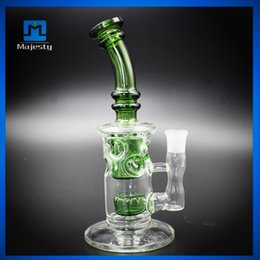 Wholesale Hookah Up - High Quality 18mm caliber small water green design hookah good health and hygiene and clean up glass Hookah