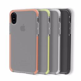 Rock d'origine pour l'iPhone X Housse souple et souple TPU + Housse hybride TPE pour iPhoneX Cover Shield Protective Shield ? partir de fabricateur
