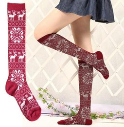 Wholesale Dance Knee High Socks - Wholesale-10pairs lot New girls knee-high socks party dancing hosiery for lady leg warmer free shippping
