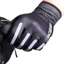 Wholesale Sobike Winter - Wholesale-New2015! LANCE SOBIKE Men's Winter Full Finger Gloves Bicycle Cycling Windproof Gloves Luvas Silica GEL Pad for Road Bike MTB