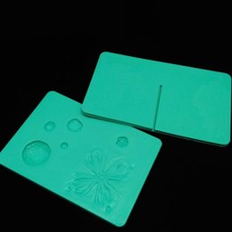 Wholesale Tools For Fondant - Petal And Leaves Veining Grooves Board For Kithen Baking Suppies Silicone Baking Mould Cake Fondant Flower Tools Heat Resisting 23dl C