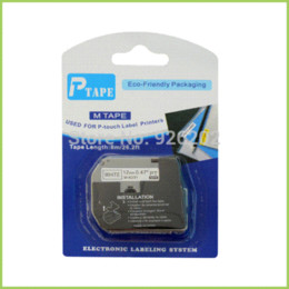 Wholesale P Touch Label Tape - 2PK Compatible for P-Touch Tape Label Catridge M-K231 MK231 M-K231 m tape Black on White 12mm X 8m
