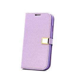 Wholesale S3 Flip Cover White - S5Q Flip Leather Cover Shell Case For Samsung Galaxy S3 I9300 AAACJJ