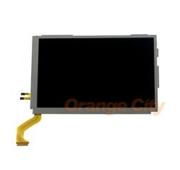 3ds ll xl online-Nuevo original para 3DSXL 3DSLL en la parte superior Pantalla superior LCD 3DS XL LL LCD