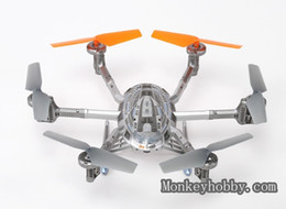 Wholesale Ufo Models - Wholesale-Walkera QR Y100BNF Wi-Fi FPV Mini IOS and Android Compatible Model plane BNF UFO RC Quadcopter Drone Multi-Rotor helicopter