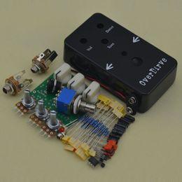 Effetti pedale diy online-Costruisci i tuoi strumenti musicali fai-da-te Guitar Effect Overdrive-1 Pedal Full Kits