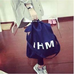 Wholesale Handbags Korea Wholesale - Wholesale-New Fashion Korea Women vintage Letter Canvas bags denim bag shoulder bag tote shopping Handbag Z64