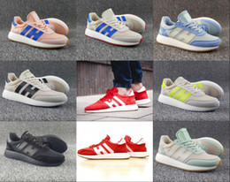 Wholesale Grey Rubber Bands - 2017 Wholesale Iniki Runner Boost Iniki Retro Mens Running Shoes OG London Iniki Sneakers high quality sports shoes US 5-11 Hot sale online