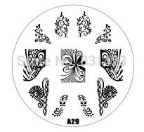 Wholesale Manicure Beauty Care Images - Wholesale-2015 new A Series A29 Nail Art Polish DIY Stamping Plates Image Templates Nail Stamp Stencil Manicure Care Beauty Designs Tools