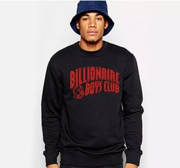 Wholesale Mens Graphic - BILLIONAIRE BOYS CLUB 100% COTTON GRAPHIC MENS SWEATSHIRTS PYERX PLAYER ASAP Rocky yeezus coat hoodies outers plus size 2XL