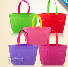 Wholesale Wholesale Grocery Totes - Eco Reusable Shopping Bags Cloth Fabric Grocery Packing Recyclable Bag Hight Simple Design Healthy Tote Handbag Fashion gift bags