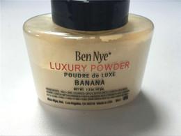 porzellanhaut Rabatt Ben Nye Luxury Powder 42g neue natürliche Gesicht lose Pulver wasserdichte Banane erhellen langlebige versandkostenfrei