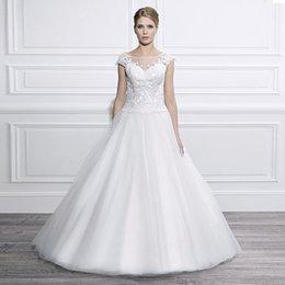 Wholesale Weddings Dresses China - Sexy Lace ball gown China Wedding Dresses 2016 Ball Gown Lace Wedding Gowns Romantic Plus Size Vintage vestido de noiva