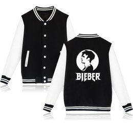 Wholesale Girls Purposes - Wholesale- New Arrive Justin Bieber Purpose Tour College Pink Gray Black Baseball Jacket Women Winter Warm Fear of God Girls Coats Jackets