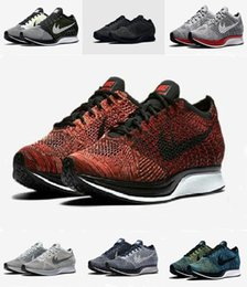 Wholesale Racer Back Tops - Top Quality Drop Shipping 2017 Men Women Casual Racers Gazelle Back White Grey Red Lightweight Breathable Walking Hiking Shoes 36-45