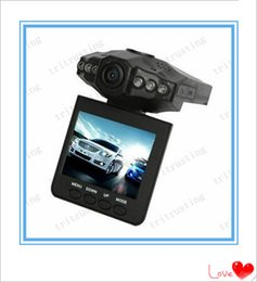 H198 HD registratore per auto DVR per auto fotocamera digitale 6 IR LED Night Video Recorder Schermo colorato da 2,5 pollici 270 Rotante 10PCS da la batteria della fotocamera hd nascosta fornitori