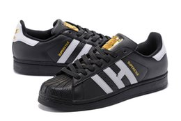 Wholesale Head Light Running - 2017 Highest quality Originals Superstar shoes Shell head Junior Superstars Sneakers Super Star Women Men Sport Running Shoes size 36-44