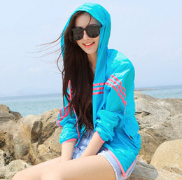 Wholesale Uv Protection Shirts - Hot Selling Women Summer Transparent UV Protection Long Sleeve Shirt Waterproof Quick Dry Zipper Clothing Jacket