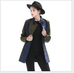 Wholesale Women Winter Coat Manufacturers - 2017 winter coats brand explosion hit color collar size slim wool coat JR1116 ladies temperament manufacturers selling